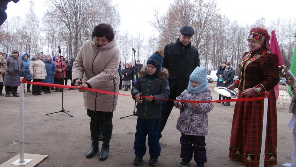 Открытие Ивенского фельдшерско-акушерского пункта 21 ноября 2018