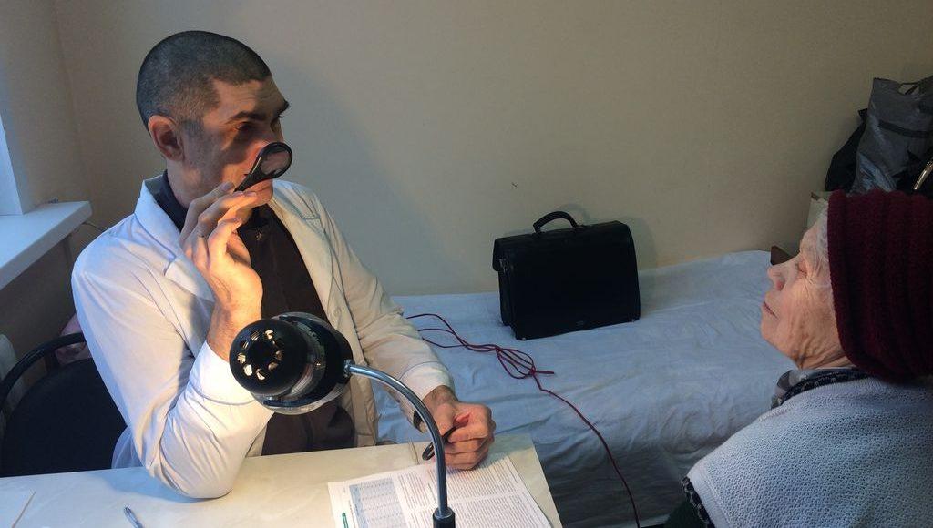 Выезды бригад врачей Моршанской ЦРБ в населенные пункты Моршанского района