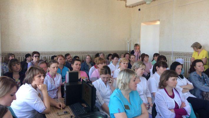25 апреля 2019 в ТОГБУЗ «Моршанская ЦРБ» конференция для средних медицинских работников.